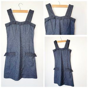 SMOKING LILY Vintage Style Hemp Grey Shift Dress